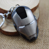 Iron Mask Keychain - The Nerd Cave - 5