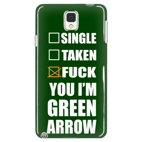 Fuck You I'm Arrow Phone Case LIMITED EDITION - The Nerd Cave - 1