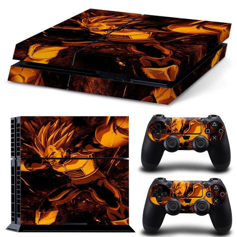 Vegeta Playstation 4 Skin - The Nerd Cave