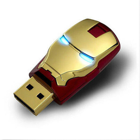 Iron Man Flash Drive - The Nerd Cave