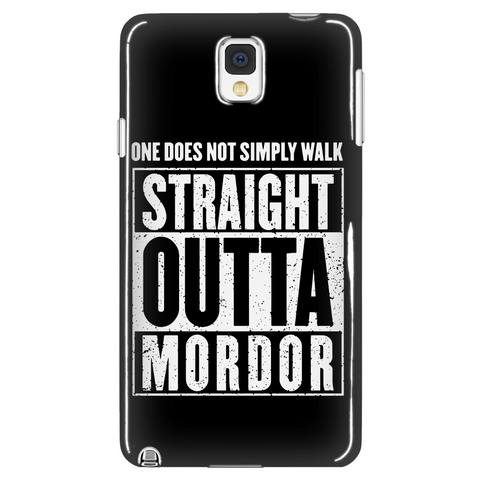 Straight Outta Mordor Phone Case LIMITED EDITION - The Nerd Cave - 1