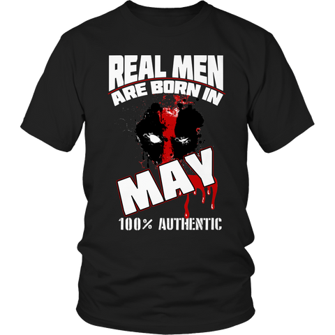 Real Men Are Born In May LIMITED EDITION - The Nerd Cave - 1