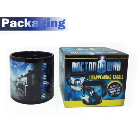 Tardis Changing mug - The Nerd Cave - 1