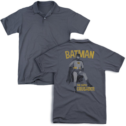 Caped Crusader (Back Print) - The Nerd Cave