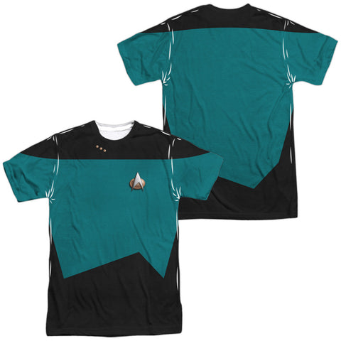 TNG Science Uniform - The Nerd Cave - 1