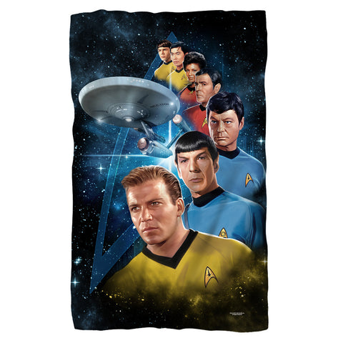 Among The Stars Fleece Blanket - The Nerd Cave