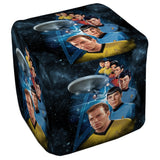 Among The Stars Cube Ottoman - The Nerd Cave - 1