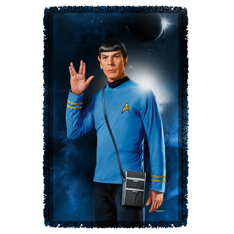 Spock Woven Throw