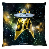 50th Ship Pillow
