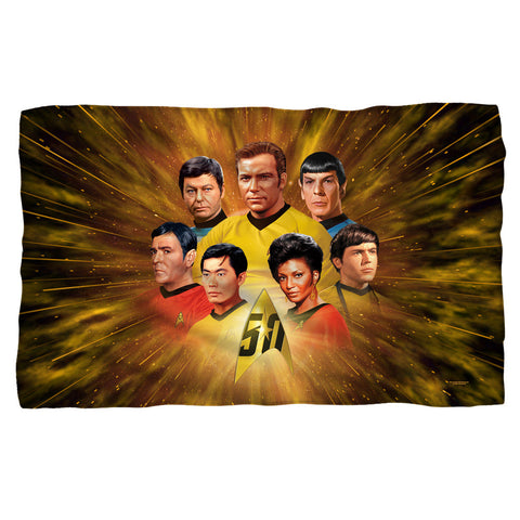 50th Crew Fleece Blanket