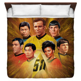 50th Crew Duvet Cover