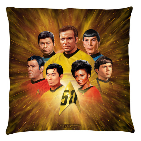 50th Crew Pillow