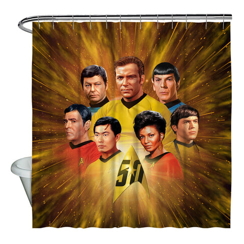 50th Crew Shower Curtain