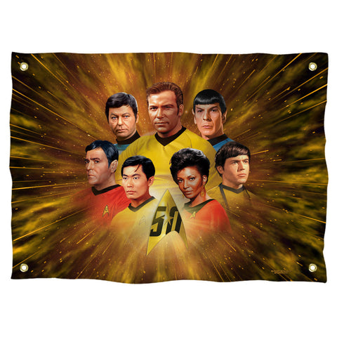 50th Crew Wall Tapestry