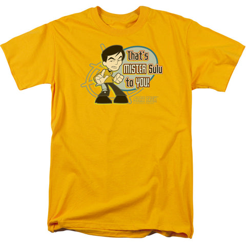 Mr Sulu For You - The Nerd Cave - 1