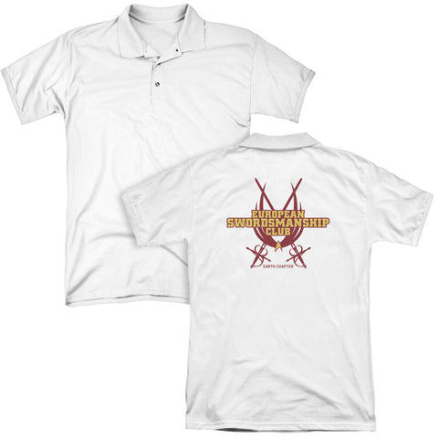 Swordsmanship Club (Back Print) - The Nerd Cave