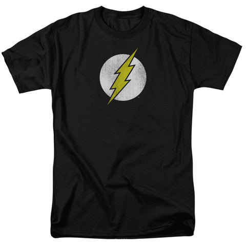 Flash Logo Distressed - The Nerd Cave - 1