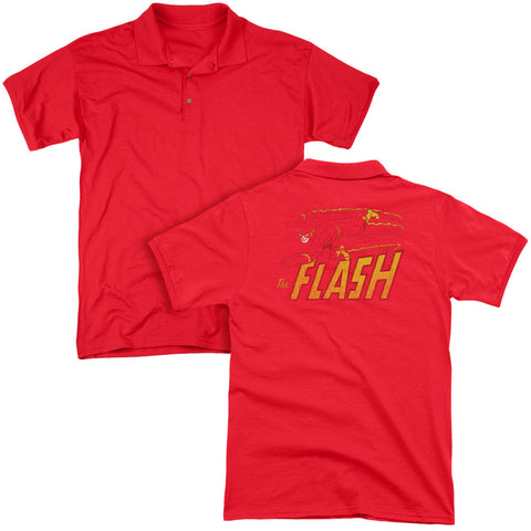 Flash Speed Distressed (Back Print) - The Nerd Cave