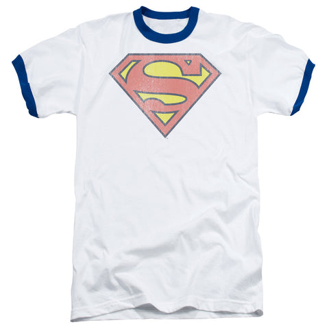 Retro Supes Logo Distress