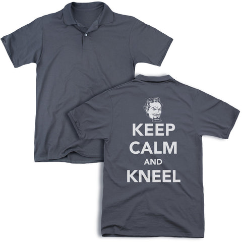 Keep Calm And Kneel (Back Print)