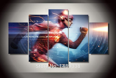 Framed Printed The Flash Print Painting on canvas room decoration print poster picture canvas Free shipping F/876 - The Nerd Cave