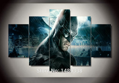 Batman - Arkham Knight City Multiple Piece Canvas LIMITED EDITION - The Nerd Cave