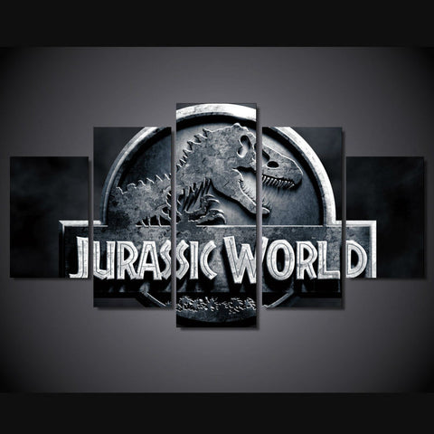 Jurassic Park - Jurassic World 5 Piece Canvas LIMITED EDITION