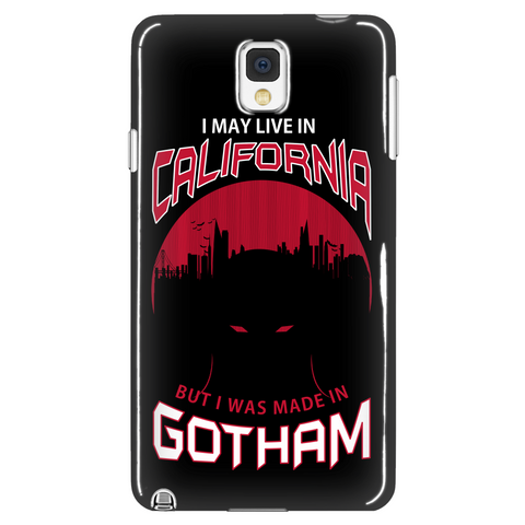 I May Live In California But I Was Made In Gotham Phone Case LIMITED EDITION - The Nerd Cave - 1