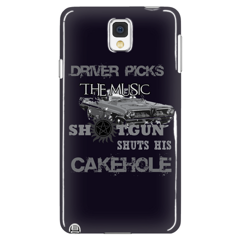 Shotgun Shuts Cakehole Phone Case LIMITED EDITION - The Nerd Cave - 1