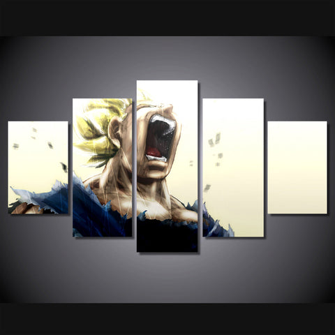 Dragon Ball Z - Super Saiyan 5 Piece Canvas LIMITED EDITION - The Nerd Cave - 1