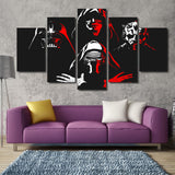 Dark Side - 5 Piece Canvas LIMITED EDITION - The Nerd Cave - 4