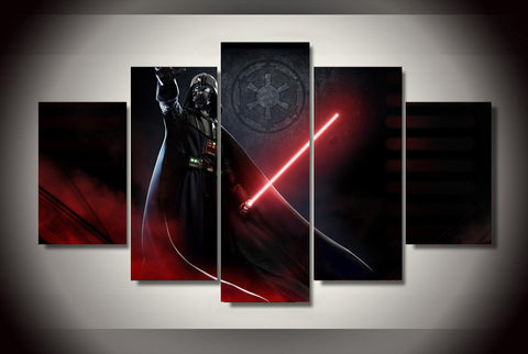 Darth Vader -Sith 5 Piece Canvas LIMITED EDITION - The Nerd Cave