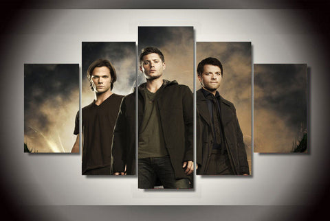 Supernatural - 5 Piece Canvas LIMITED EDITION