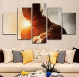 Flash - 5 Piece Canvas LIMITED EDITION - The Nerd Cave - 3