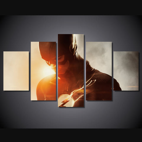 Flash - 5 Piece Canvas LIMITED EDITION - The Nerd Cave - 1