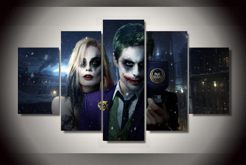 Joker 5 Piece Canvas LIMITED EDITION
