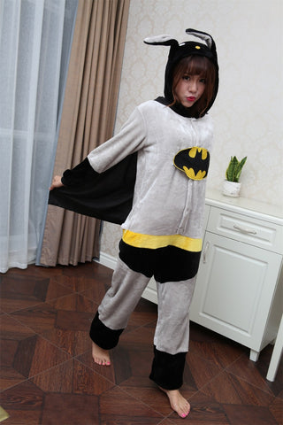 Unisex Bat Zipped Onepeice - The Nerd Cave