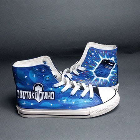 Doctor Who Shoes - The Nerd Cave - 1