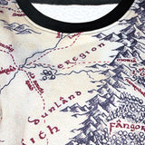 Lord of The Rings Middle Earth Map Sweatshirt - The Nerd Cave - 4