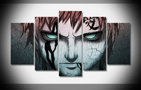 Gaara - 5 Piece Canvas LIMITED EDITION - The Nerd Cave - 1