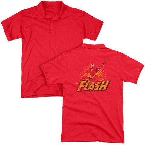 Flash Rough Distress (Back Print) - The Nerd Cave