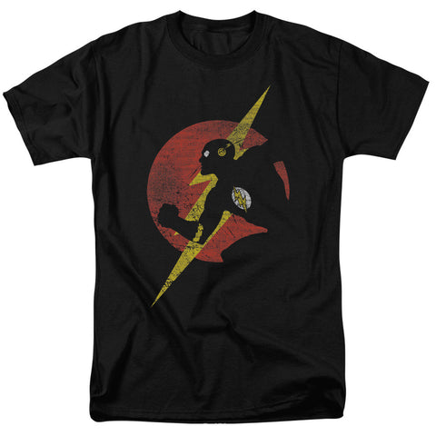 Flash Symbol Knockout - The Nerd Cave - 1