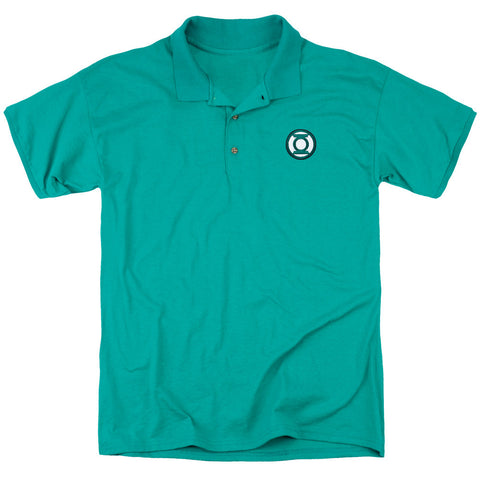 Green Lantern Emblem Polo - The Nerd Cave