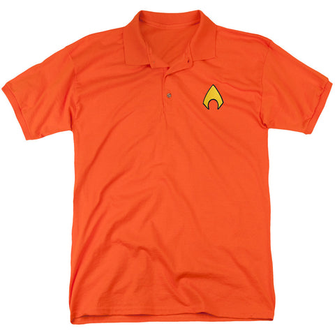Aquaman Emblem Polo - The Nerd Cave