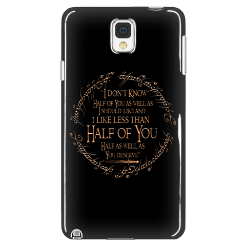 I Don't Know Half Of You Phone Case LIMITED EDITION - The Nerd Cave - 1