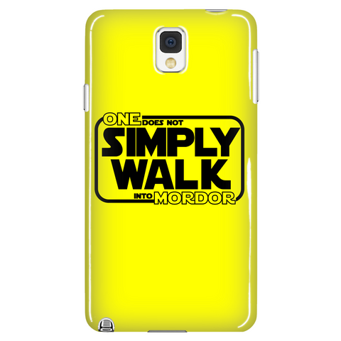 One Does Not Simply Walk Into Mordor Phone Case LIMITED EDITION - The Nerd Cave - 1