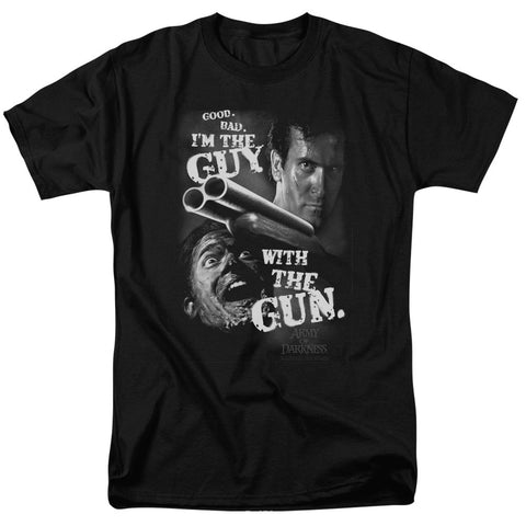 Guy With The Gun - The Nerd Cave - 1