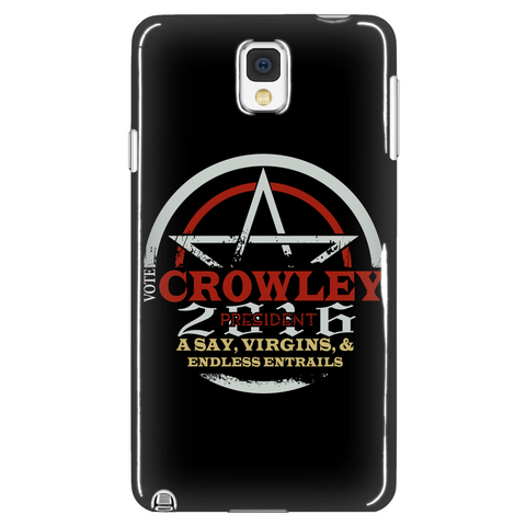 Crowley President Phone Case LIMITED EDITION - The Nerd Cave - 1
