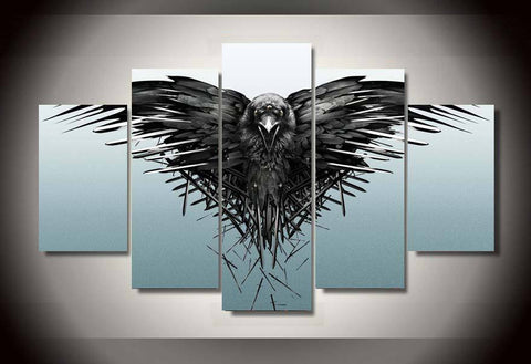 Game Of Thrones - Night Watch 5 Piece Canvas LIMITED EDITION - The Nerd Cave