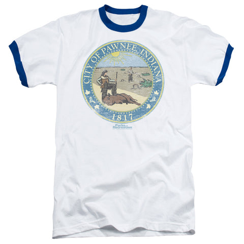 Distressed Pawnee Seal - The Nerd Cave